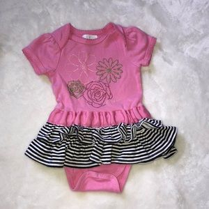 a3e9cc657 Guess One Pieces | Baby Girl Pink Ruffle Outfit | Poshmark